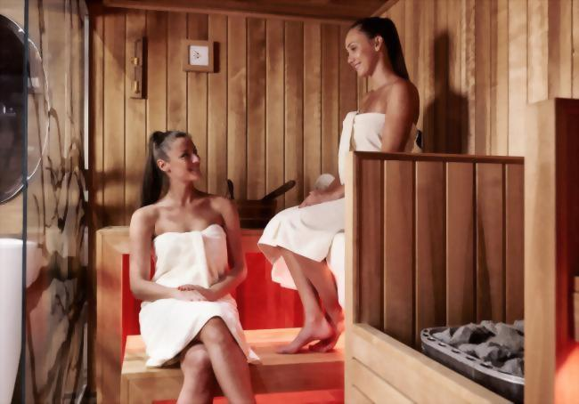 What's more relaxing than a visit to our Aromatic Steam Room or Finnish Sauna