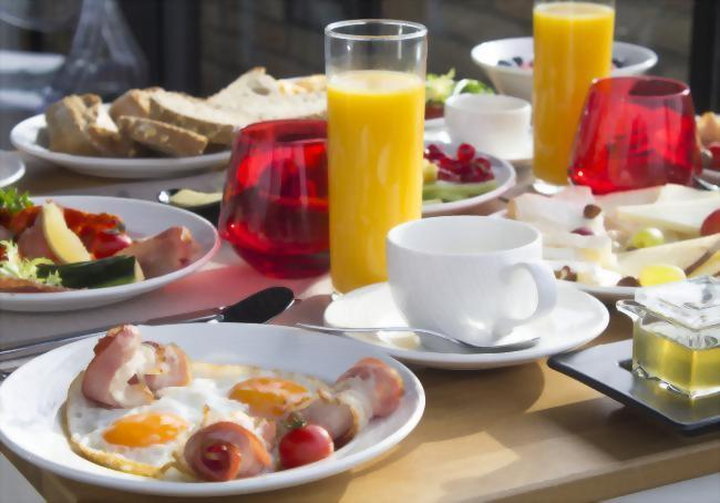 Guests are welcome to enjoy a buffet breakfast with eggs made to order every morning!