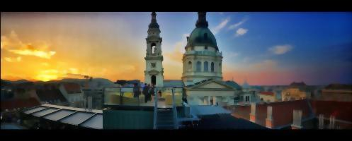 Aria Hotel Budapest is superbly located in the shadow of the majestic St. Stephen's Basilica.