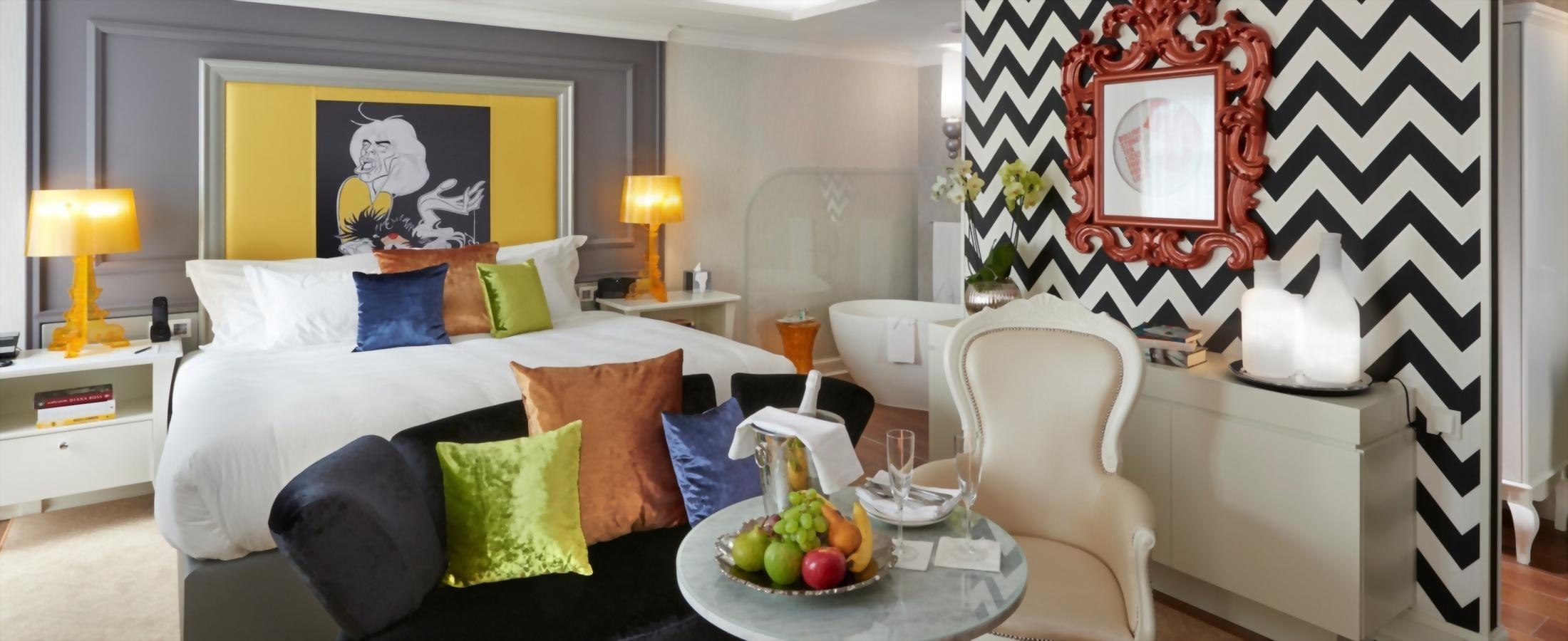 The Aria Hotel Budapest offers a number of wonderful stay enhancements that can be added to any reservation.