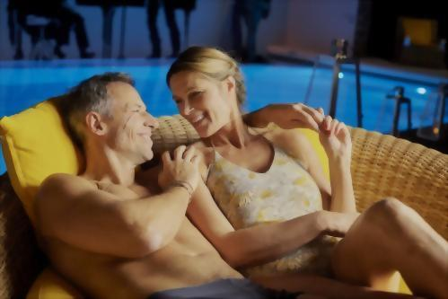 Spend quality time with your loved while relaxing by pool.